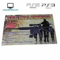 ELECTRONICA   Rifle Inalambrico para PlayStation PS3 /Ps2 caja 50 cm