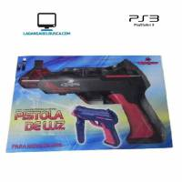 ELECTRONICA   Pistola de luz para move PlayStation PS3  caja 25 cm Roja