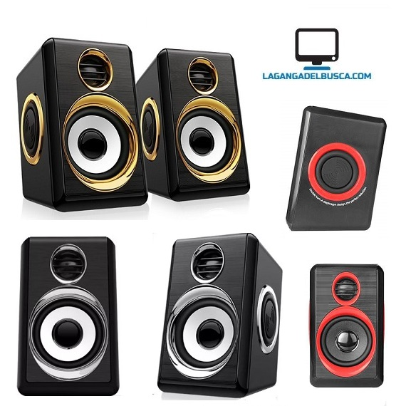 ELECTRONICA   Parlantes Para Pc  EP29211 Con Subwoofer Sp2040