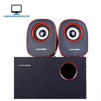 ELECTRONICA   Parlantes + subwoofer EP29218  2.1  Lenrue USB Subwoofers  home theater