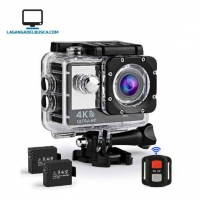 ELECTRONICA   Camara Deportiva G030 con control 4K WiFi  Ultra HD 16MP Impermeable Submarina 30M