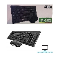 ELECTRONICA   Kit combo teclado y mouse dn-5200