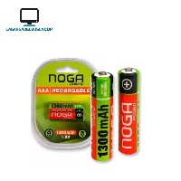 ELECTRONICA   Pila recargable  noga AA power 1300mah    #56
