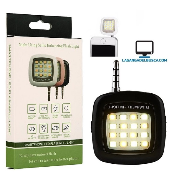 ELECTRONICA   Linterna Flash Leds para celular o Tablet EP28657
