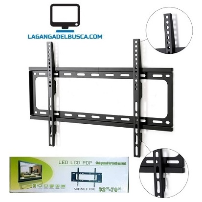 ELECTRONICA   Soporte De Pared Para Tv  LED Plano 32 a 70´´ -HTV-406