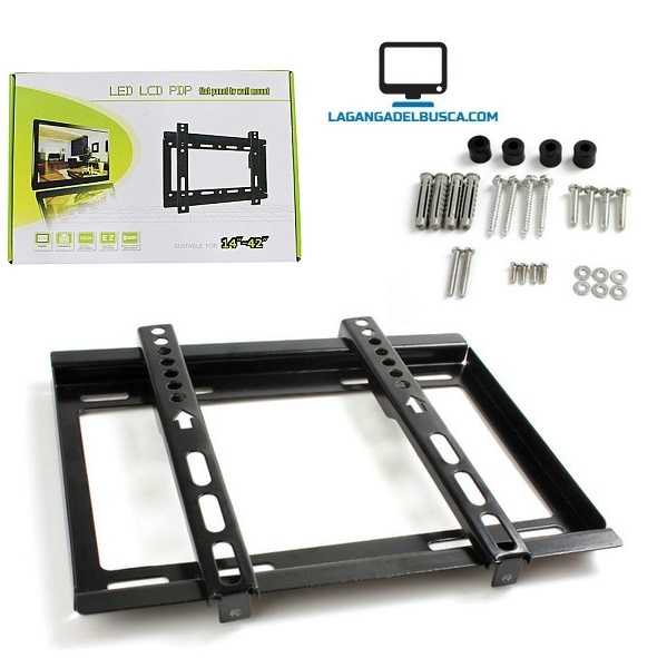 ELECTRONICA   Soporte De Pared Para Tv  Led Plano de 14 a 42 pulgadas