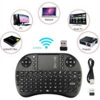 ELECTRONICA   Mini Teclado Wifi Con TCL-1500 Touchpad Inalambrico para Tv celu tablet