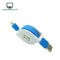 ELECTRONICA   Cable retractil para  i phone high quality lightning  #1