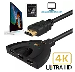 ELECTRONICA   Hdmi Switch SMF7804 con 3 Entradas En 1 PigTail 4k X 2k Tv Pc Ps3 Hdtv
