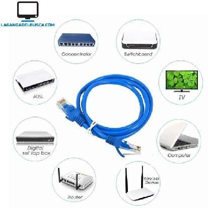 ELECTRONICA   Cable de red 1.5  metros - Ethernet - Internet