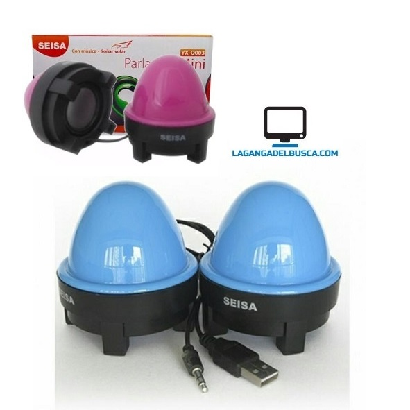 ELECTRONICA   Parlantes Mini para Pc YX-Q037