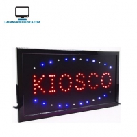 ELECTRONICA   Cartel Led KIOSCO  220 v Ideal Para Negocios EPKIOSCO