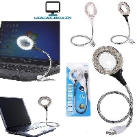 ELECTRONICA   Luz Usb Kt-616 18 led Para Laptop lampara