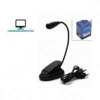 ELECTRONICA   VELADOR FLEXIBLE BROCHE USB CODIGO:VE2