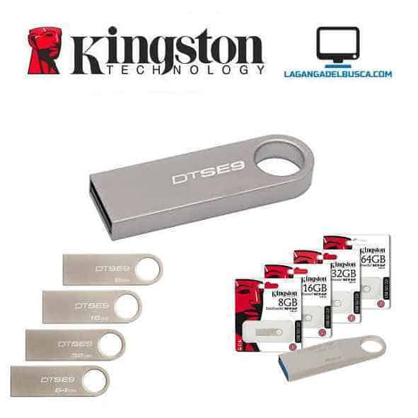 ELECTRONICA   Pendrive 8 GB Kingstom SE9 Metalico