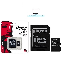 ELECTRONICA   Memoria SD 8 GB Kingston