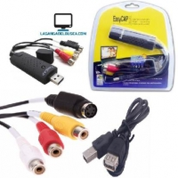 ELECTRONICA   Capturador de Video Easycap x 1 DC60-007