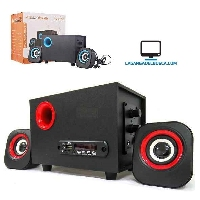 ELECTRONICA   Parlante subwoofer 2.1 altavoz FT-2800U parlante para PC /TV home
