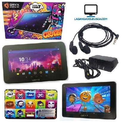 ELECTRONICA   Tablet 7 ´´ dibujos Oryx cuad core 8 GB dual MID-760