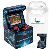 ELECTRONICA   Consola Fichin Plus Retro Games Machine Arcade 240 Juegos de 16 bits incrustados