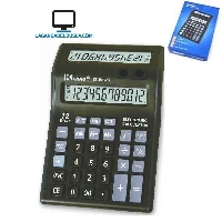CALCULADORAS   Calculadora Doble visor CT-8585 12 digitos grande EP27995