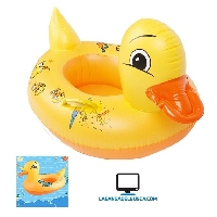 JUGUETERIA   Juguete Inflable Bote pato