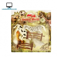 JUGUETERIA   Juguete conjunto animales Cod300472  #15 Word of animal