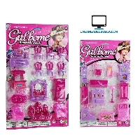 JUGUETERIA   Juguete casita con Muebles Girl Home beatiful