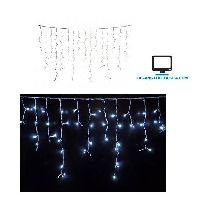 ARTICULOS NAVIDEÑOS   Luz led lluvia por 100 luces color blanco 220V #8