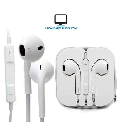 AURICULARES   Auriculares T/ Apple Earpods Ipad Iphone 3.5 disponible blanco