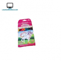 LIBRERIA   Lápices de colores color pencil x 12 #28