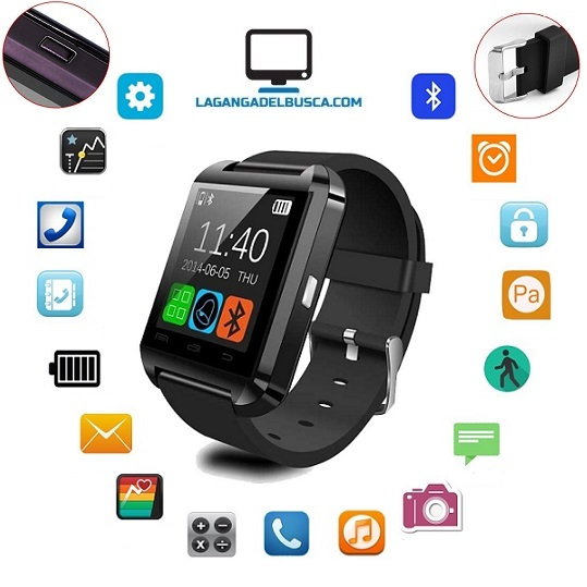 RELOJERIA   Reloj Inteligente Smartwatch U8 Android Iphone Smartwatch